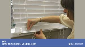 how to shorten blinds wood and fauxwood u0026raquo diy