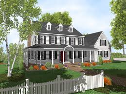Cottage Style House by Charm 2 Story Cottage Style House Plans House Style Design