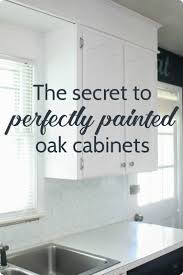 Kitchen Oak Cabinets by Painting Oak Cabinets White An Amazing Transformation Lovely Etc