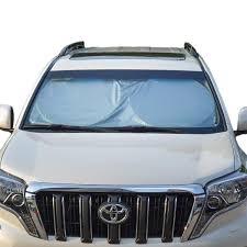 tfy universal car windshield sunshade sun visor easy foldable