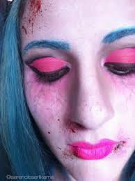 dead makeup halloween cartoon zombie princess halloween makeup tutorial how to