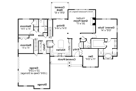 Split Level Ranch Floor Plans House Plans Rancher House Plans Brick Ranch House Plans Ranch