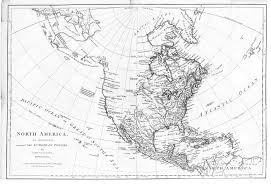 N America Map by 1774 Map Of North America English