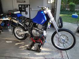 suzuki dr650 build transformation to an adventure bike