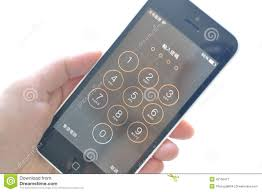 Image result for Password on  Phone