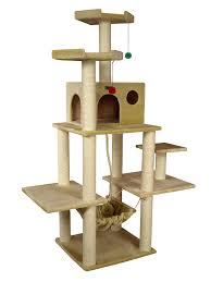 amazon com armarkat a7202 72 inch cat tree beige cat toys