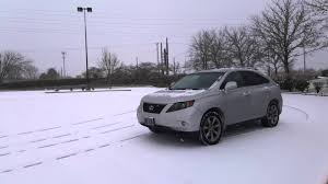 kuni lexus rx 350 used lexus rx350 2013 snow drifting youtube