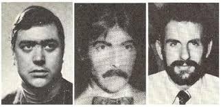 Juan Mañas (24 años), Luis Montero (33) y Luis Cobo (29),
