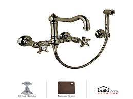 Wall Mount Kitchen Sink Faucet Inspirations Bridge Faucets Wall Mount Faucet With Sprayer