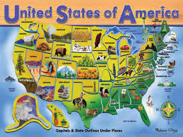 The Map Of The United States Of America by Detailed Tourist Illustrated Map Of The United States Of America