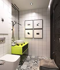 small minimalist bathroom designs decorated with variety of modern alena fokina white and green minimalist bathroom