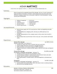 Sample Resume Of Office Administrator by Unforgettable General Manager Resume Examples To Stand Out