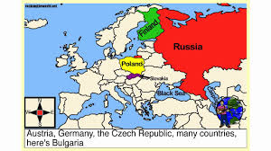 Show Map Of Europe by Eastern Europe Geography Song Youtube