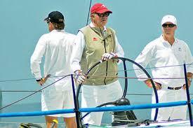 El Borbón navegando