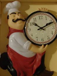 fat italian chef kitchen wall clock this is the perfect clock for