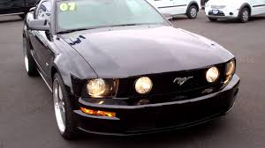 mustang gt 2007 5 speed manual youtube
