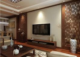 Design Chinese Style Woodcarving Tv Wall - Interior design chinese style