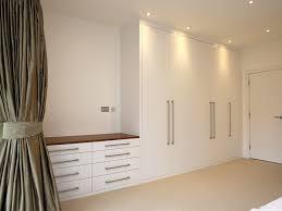 White Bedroom Furniture Design 1 Bespoke Built In Fitted Wardrobe White Chest Drawers Modern