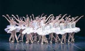 Ballet de repertório O lago dos Cisnes