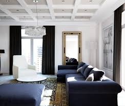 a stylish apartment with classic design features