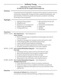 Best Office Assistant Resume Example   LiveCareer LiveCareer