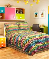 Bed Comforter Sets For Teenage Girls by Pink Rainbow Leopard Teen Bedding Twin Xl Full Queen Bed In A