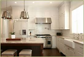 kitchen cabinet white cabinets with white subway tile hickory