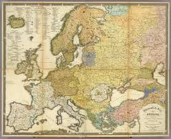 Detailed Map Of Germany by A German Ethnic Map Of Europe 1847 1800x1469 Ethnic And History