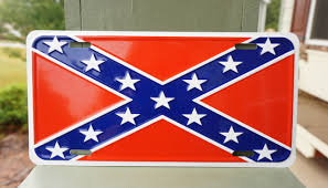 Rebel Flag Home Decor by Confederate Flag License Plate Patriot Depot