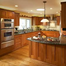 Design Of Kitchen Cabinets Download Light Cherry Kitchen Cabinets Gen4congress Com