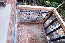 Modern Conservatory Kitchen Extension Oak Frame Construction Modern Style