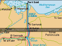 Map Of The Red Sea Suez Canal By Antonio Lopez