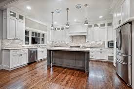 kitchen white cabinets with granite cream backsplash grey