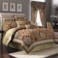Red King Comforter Sets Interior Mesmerezing Bedroom Comforter And Curtain Sets With
