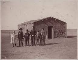 images about Women of the Old West on Pinterest   Wild west     Sod schoolhouse  Thomas County  Kansas This sepia colored photograph shows a group of students