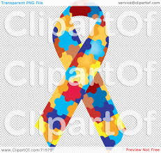royalty free rf clipart illustration of a colorful jigsaw puzzle