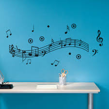 popular musical wall murals buy cheap musical wall murals lots free shipping music melody wall murals wallpaper for home decoration vinyl art stave for room music