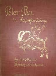 Peter Pan True Story   JM Barrie  Davies Brothers eBay