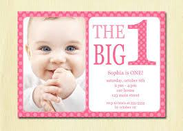 Free Printable Birthday Invitation Cards With Photo Birthday Invites Surprising 1st Birthday Invitation Designs