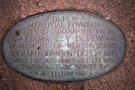 Depew Memorial Plaque