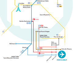 Charles De Gaulle Airport Map Transportation Between Paris And Orly Ory Airport Paris By Train