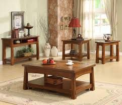 Craftsman Style Dining Room Furniture Riverside Furniture Craftsman Home Console Table With Slate Tile