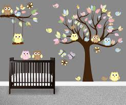 Tree Decal For Nursery Wall by Brown Tree Wall Decal Nursery Color The Walls Of Your House