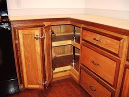 cabinets u0026 drawer medium brown color corner kitchen storage