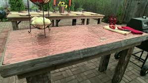 Build Your Own Outdoor Patio Table by Diy Outdoor Furniture Ideas Diy