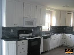 Crown Moulding Kitchen Cabinets Retrofitting Kitchen For Over The Range Microwave