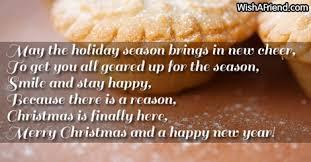 holiday season brings christmas message boss