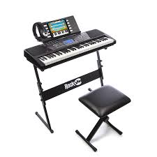 amazon power supply black friday amazon com rockjam 61 key electronic keyboard superkit with stand