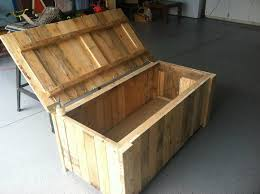 Diy Reclaimed Wood Storage Bench by Storage Deck Box From Pallet Wood My Completed Diy Projects
