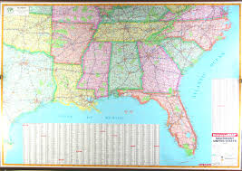 Map Florida Gulf Coast by Multi State Wall Maps By Universal Maps And The Map Shop